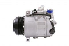 FKG AC Compressor A/C Clutch CO 11240C for 07-09 Mercedes-Benz CL550, 12-13 Mercedes-Benz S550 4.6L (with Double Pin Connector), 07-11 Mercedes-Benz S550 5.5L (with Double Pin Connector)